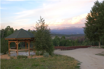 Lots of areas on property to experience the beauty of the Rockies.