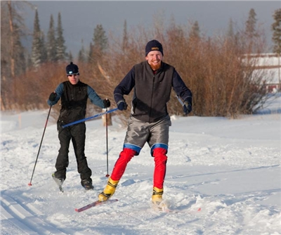 A Nordic Trail Pass is included in your stay.