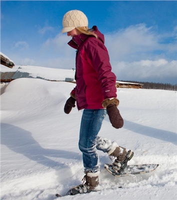 A Snowshoe Trail Pass is included in your stay.