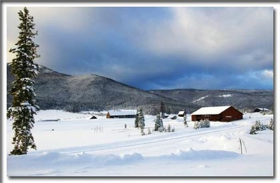 Winter Scenery at Snow Mountain Ranch